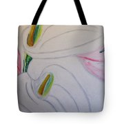 Cala Lillies Tote Bag