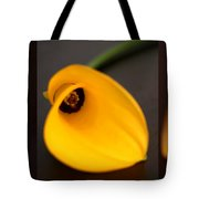 Cala Lily Tryptych Tote Bag