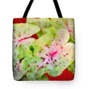 Caladiums Tote Bag