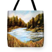 Calapooia River Tote Bag