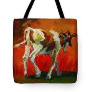 Calf Baby Tote Bag
