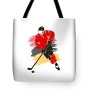 Calgary Flames Player Shirt Tote Bag