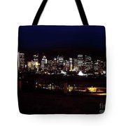 Calgary Skyline 2016 Tote Bag