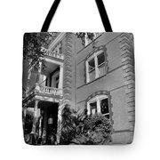 Calhoun Mansion Black And White Tote Bag