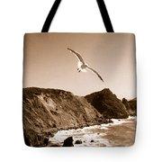 Cali Seagull Tote Bag