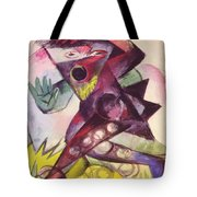 Caliban From Shakespeare The Tempest 1914 Tote Bag