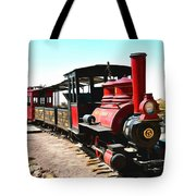 Calico And Odessa Rail Road Tote Bag