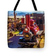 Calico Ghost Town Train Tote Bag