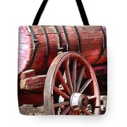 Calico Ghost Town Water Wagon Tote Bag