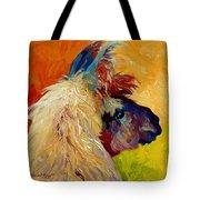 Calico Llama Tote Bag