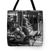 Calico Odessa Train In Black And White Tote Bag