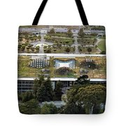 California Academy Of Sciences Living Roof In San Francisco Tote Bag