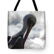 California Brown Pelican 1 Tote Bag
