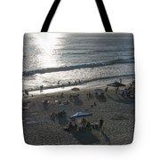 California Carlsbad Beach Almost Sunset Tote Bag