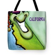 California Christmas Tote Bag