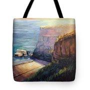 California Cliffs Tote Bag