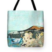 California Coast Collage Tote Bag