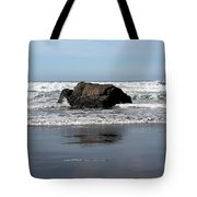 California Coast Ocean Waves 2 Tote Bag