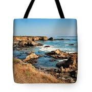 California Coast Rocky Cliffs Tote Bag