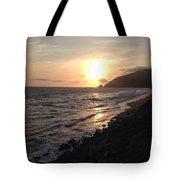 California Coast Sunset Pch Dunes Tote Bag