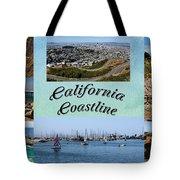 California Collage Tote Bag