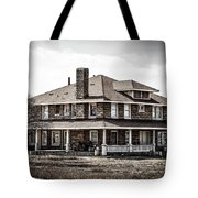 California Farm House Tote Bag