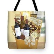 California Golden Bubbles Valentine Wine Gift  Tote Bag