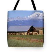 California Hay Barn Tote Bag