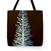 California High Sierra Pine Tree Tote Bag