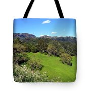 California Highlands Tote Bag