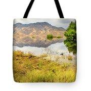 California Kaweah Lake Scene Tote Bag