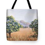 California Landscape. Fall Tote Bag