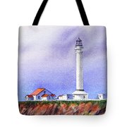 California Lighthouse Point Arena Tote Bag