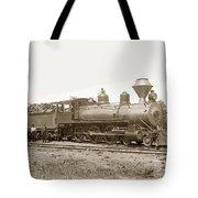 California Northwestern Railroad #30 4-6-0 Baldwin Locomotive Works Circa 1905 Tote Bag