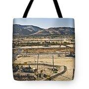 California Oil Field 14pdxl084 Tote Bag