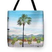 California Painting Tote Bag