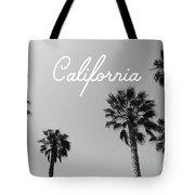 California Palm Trees By Linda Woods Tote Bag