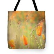 California Poppy Field 4 Tote Bag