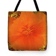 California Poppy Glow Tote Bag