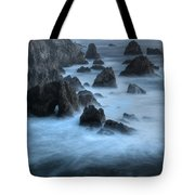 California Rocky Coastline Tote Bag