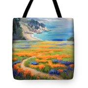 California Spring Big Sur Tote Bag