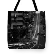 California St San Francisco Tote Bag