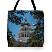 California State Capital Tote Bag