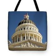 California State Capitol Cupola Tote Bag