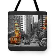 California Street San Francisco Tote Bag