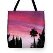 California Sunset Painting 2 Tote Bag