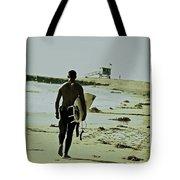 California Surfer Tote Bag by Scott Pellegrin