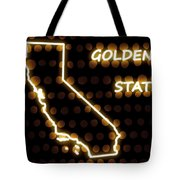 California - The Golden State Tote Bag