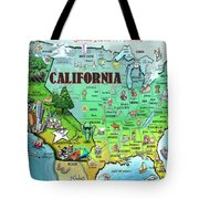 California Usa Tote Bag