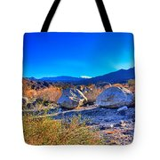 California Wilderness Panorama Tote Bag